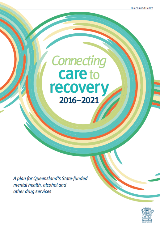 Connecting Care to Recovery 2016-2021 – A plan for Queensland's State-funded mental health, alcohol and other drug services (2016)