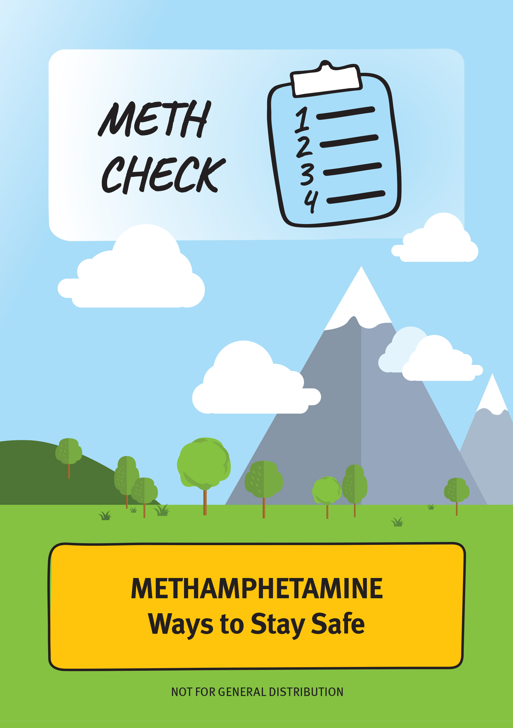 Meth Check: 'Ways to Stay Safe' Harm Reduction Booklet (2016)