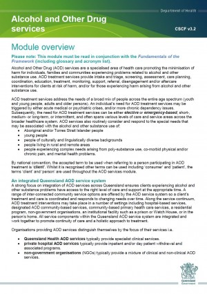 Queensland Health Clinical Services Capability Framework v3.2 – 2016