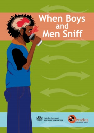 Sniffing: When Boys and Men Sniff - Double-sided Intervention - DOHA (2005)