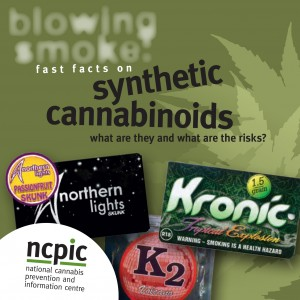 Cannabis: Fast facts on synthetic cannabinoids - NCPIC (2013)
