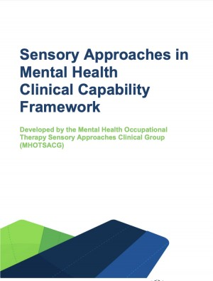 Sensory Approaches in Mental Health Clinical Capability Framework (CCF) (MHOTSACG)